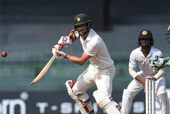 Zimbabwe post 356 in first innings