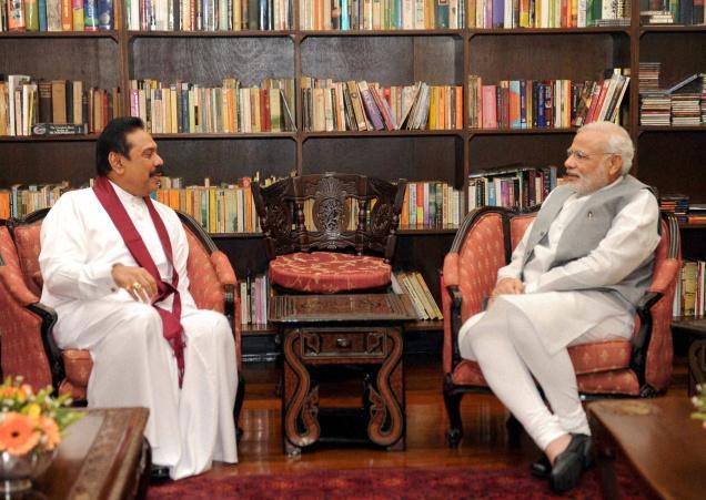 Modi meets Rajapaksa, concludes Sri Lanka visit
