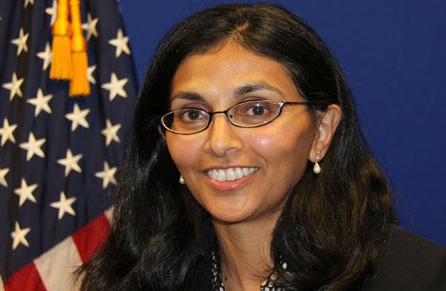 Nisha Biswal to arrive here next week