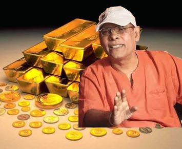 KP and LTTE's gold come up again in Parliament