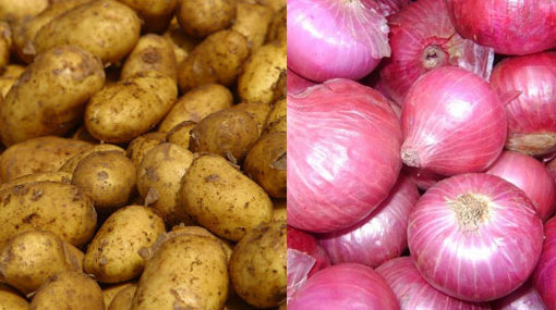Import tax on potatoes and big onions increased