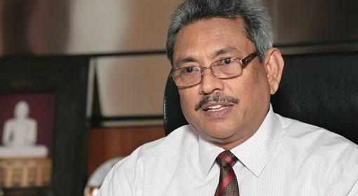 Gotabaya Rajapaksa at CoI today