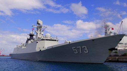 Chinese navy ships start Sri Lanka tour