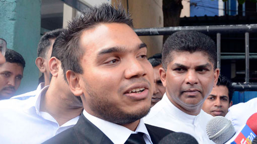 Case filed against Namal for no show at Bribery Commission