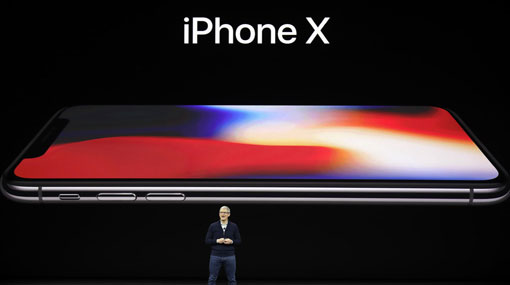 iPhone X: new Apple smartphone dumps home button for all-screen design