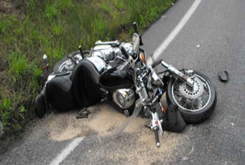 One person killed and two injured in motorbike accident
