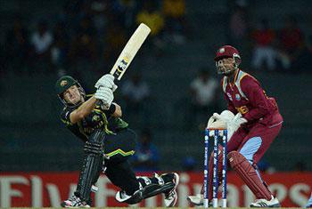 Australia beat West Indies by 17 runs (D/L)