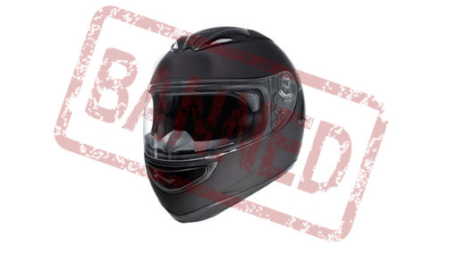 Stay Order against full-face helmet ban extended