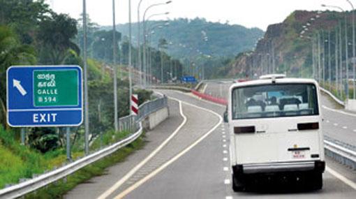 Southern Expressway Pvt bus strike