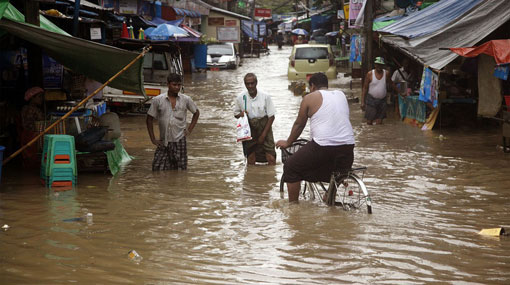 Sri Lanka condoles loss of lives in Myanmar floods