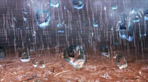 Heavy rain fall expected in parts of the country