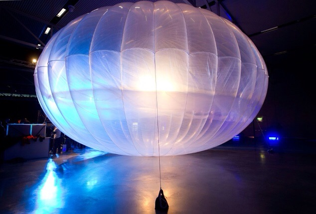 Google Project Loon's balloon falls in Pupuressa