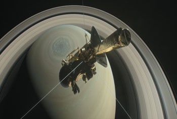 RIP Cassini: Historic Mission Ends with Fiery Plunge into Saturn