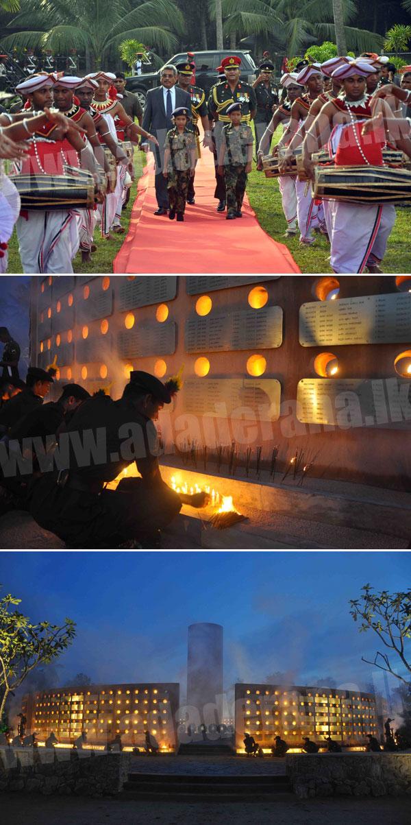VIR 'Ranaviru' monument...