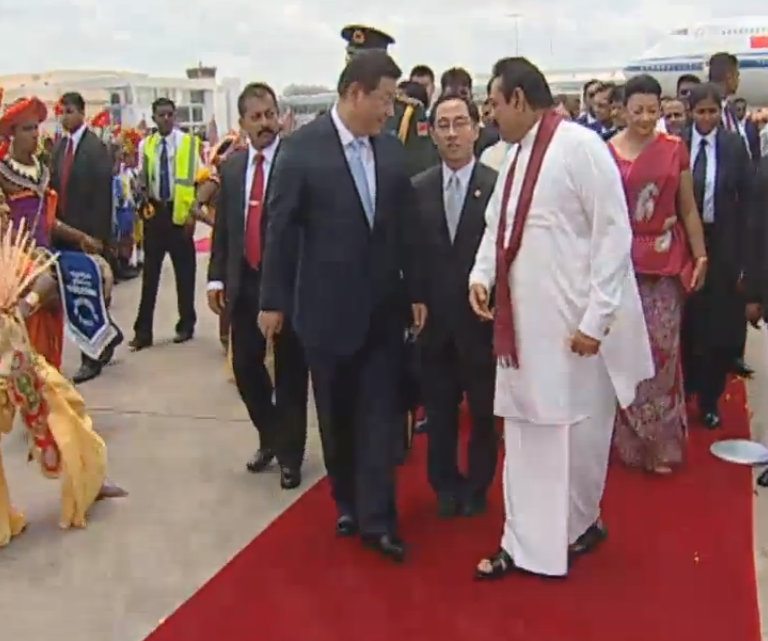 President welcomes Chinese President Xi Jinping at BIA