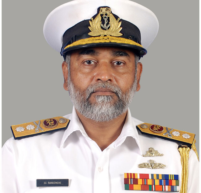 Rear Admiral SS Ranasinghe named new Navy Commander