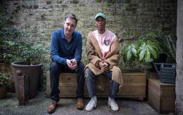 Music startup Roli adds Pharrell Williams as Chief Creative Officer