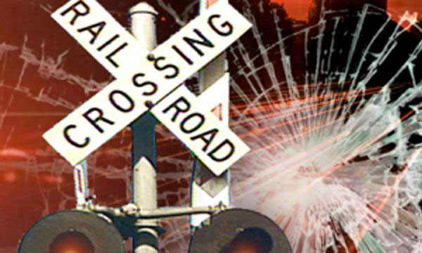 Two STF SIs dead, woman critical after train hits car