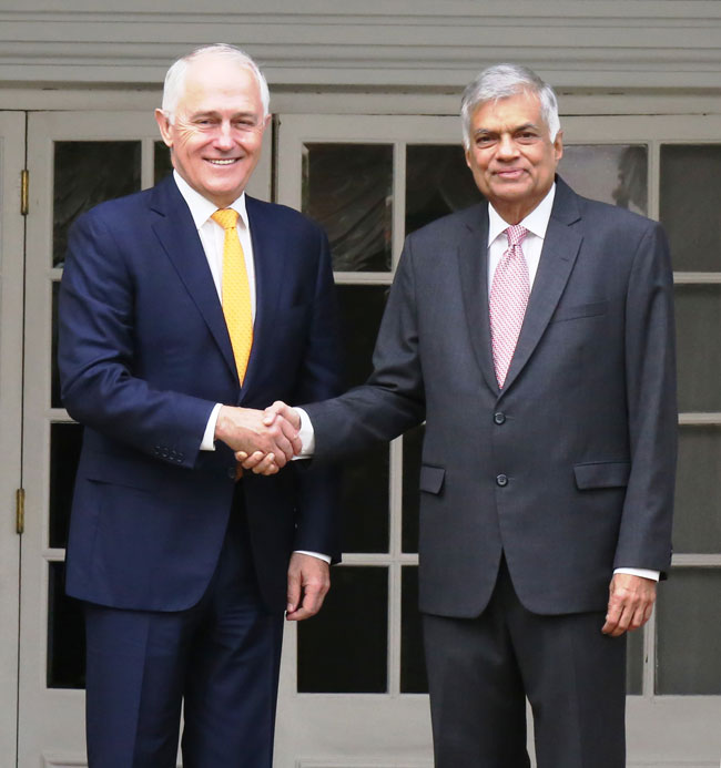 Australian PM briefed on Sri Lanka's planned constitutional reform