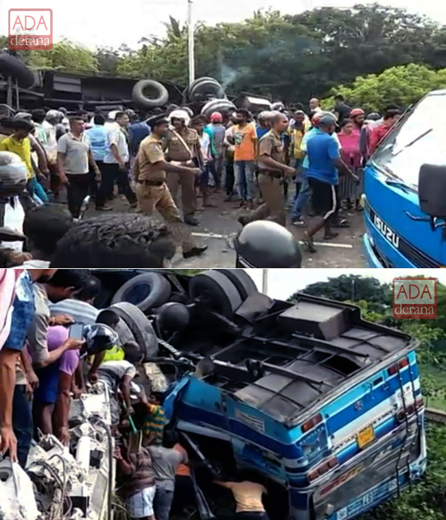 Five dead, 44 injured in bus accident at Madurankuliya