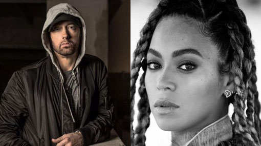 Introspective Eminem returns with Beyonce tie-up