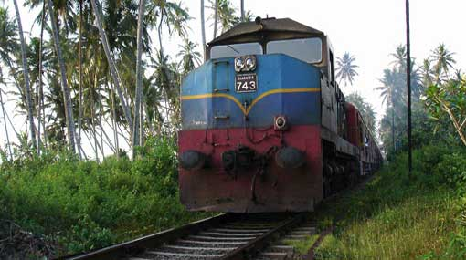 Maintenance activities restrict railway travel between Fort and Talaimannar