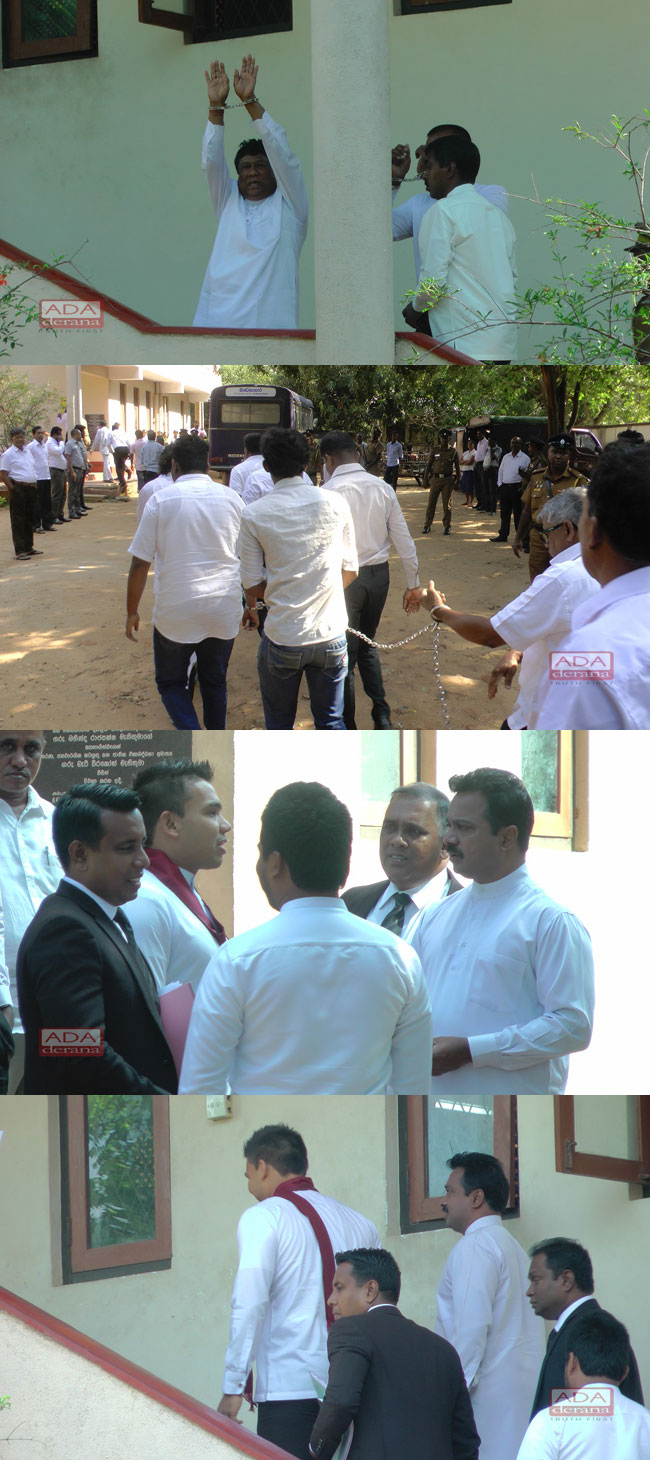 Hambantota protesters granted bail...
