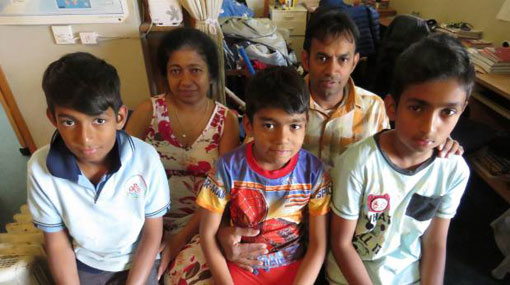 Sri Lankan family living in New Zealand deported after 8 years