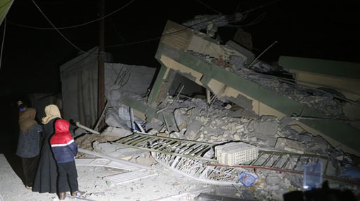 Iran-Iraq earthquake: death toll climbs to more than 400