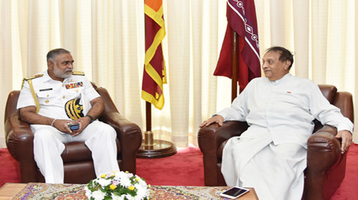 Newly appointed Navy Commander calls on Speaker