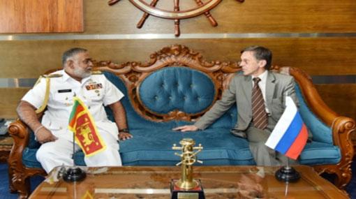 Navy Commander convenes with Russian Ambassador