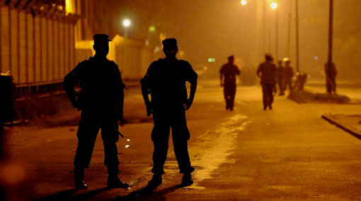 12-hour Police curfew imposed in several regions of Galle