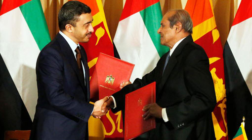 UAE and Sri Lanka sign Customs operation agreement