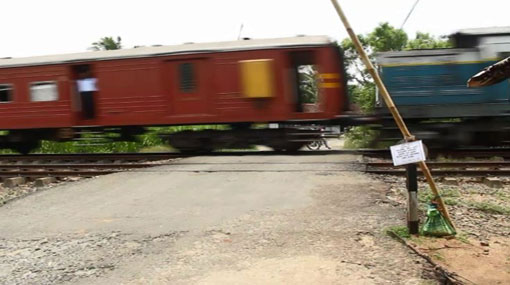 Trains on main line delayed due to collision at Wattala