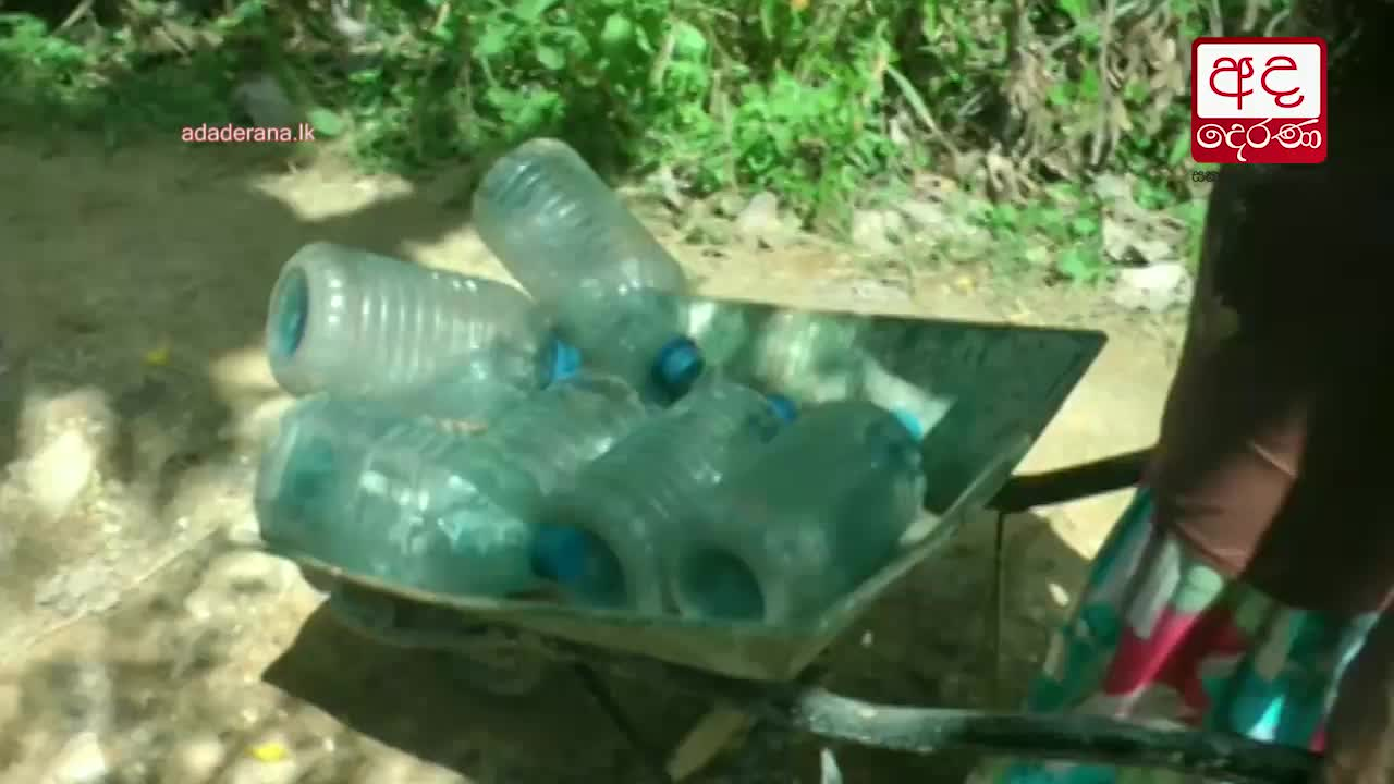 2500 families in Agunakolapelessa affected from water crisis