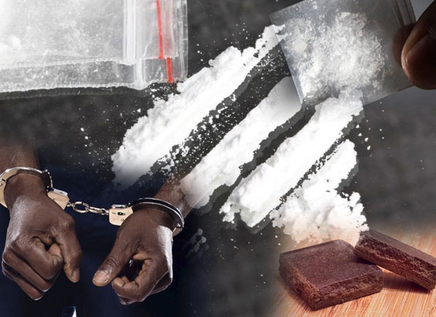 Man nabbed with ice, cocaine and hash in Dematagoda