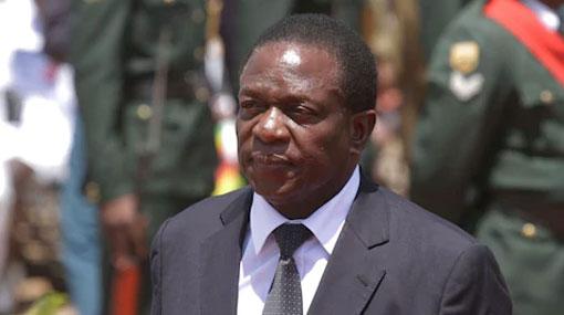 Emmerson Mnangagwa sworn in as new president of Zimbabwe