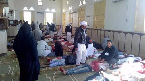 More than 200 killed as Egypt militants attack mosque in Sinai