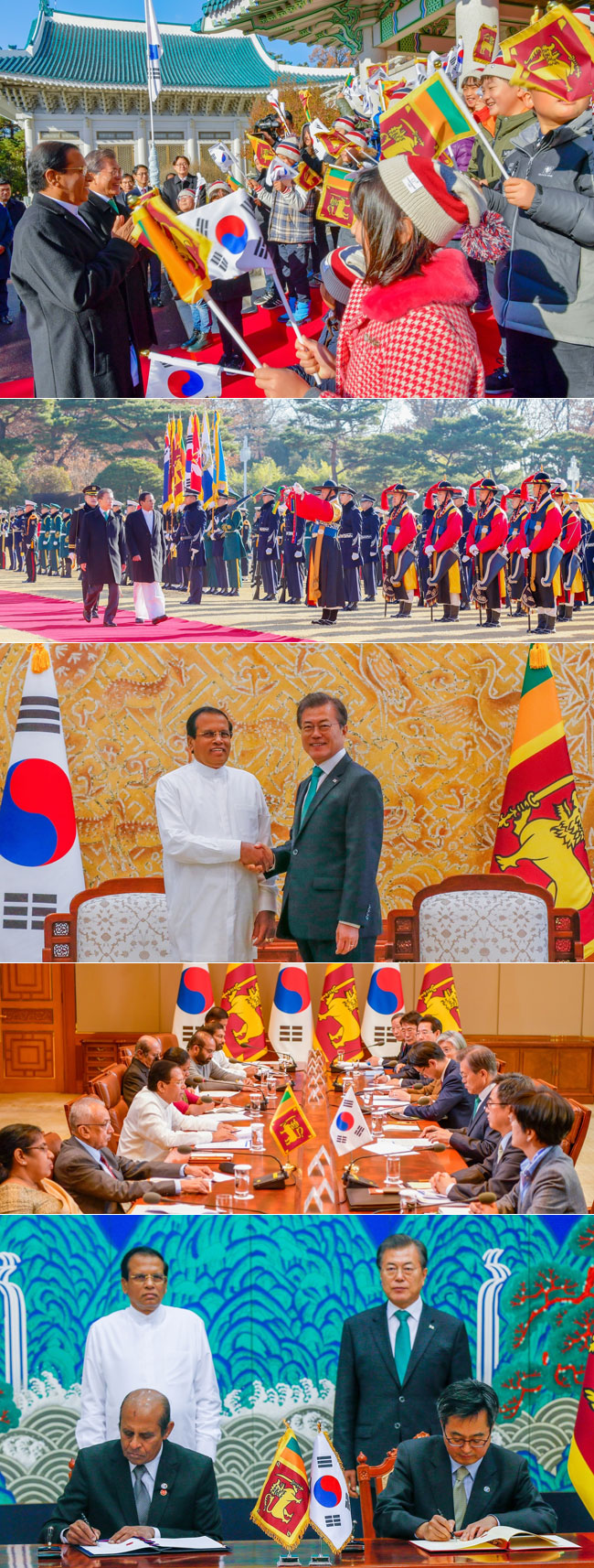 Sri Lanka, South Korea ink MoUs...