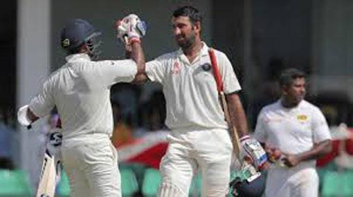 India declare at 536/7 leaving Lanka in shambles after Karunaratne golden duck
