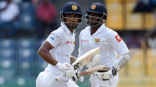 Mathews slams 8th century, Chandimal hits 10th