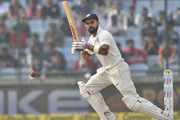 Sri Lanka need 410 to win after India declare