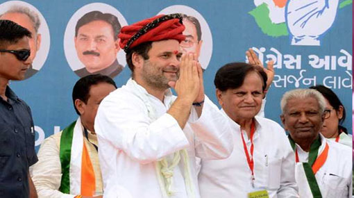 Rahul Gandhi elected as Congress president unopposed