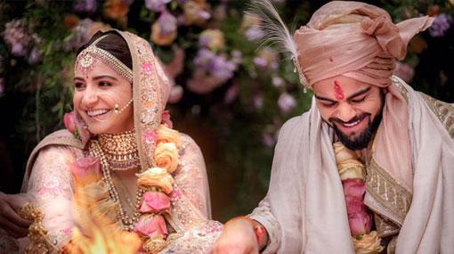 Virat Kohli weds Anushka Sharma in Italy