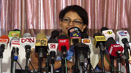 Deepa Edirisinghe enters politics through SLFP