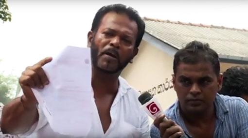 Palitha Thewarapperuma threatens to quit govt
