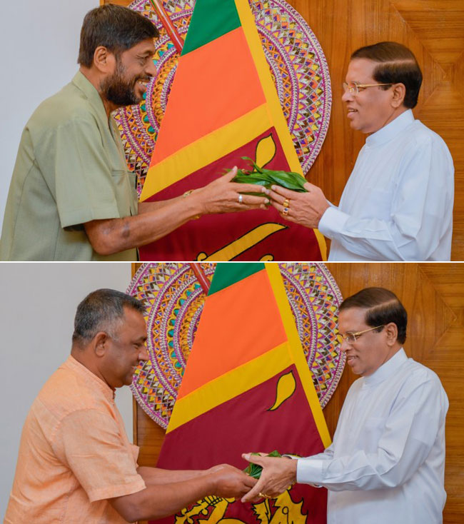 Ex-minister Somaweera Chandrasiri decides to support President