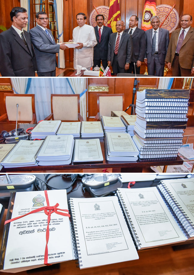 PRECIFAC final report handed over to President