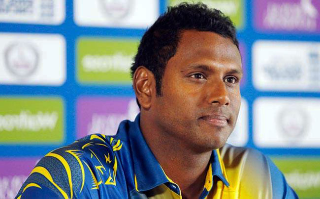 Angelo Mathews appointed limited-overs captain
