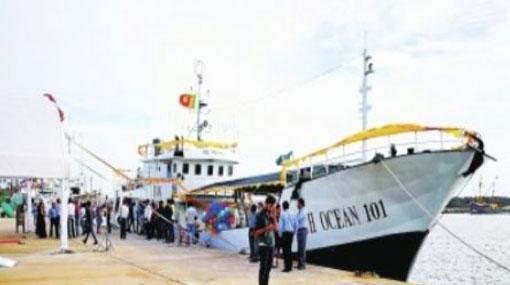 China delivers two new tuna vessels to Sri Lanka